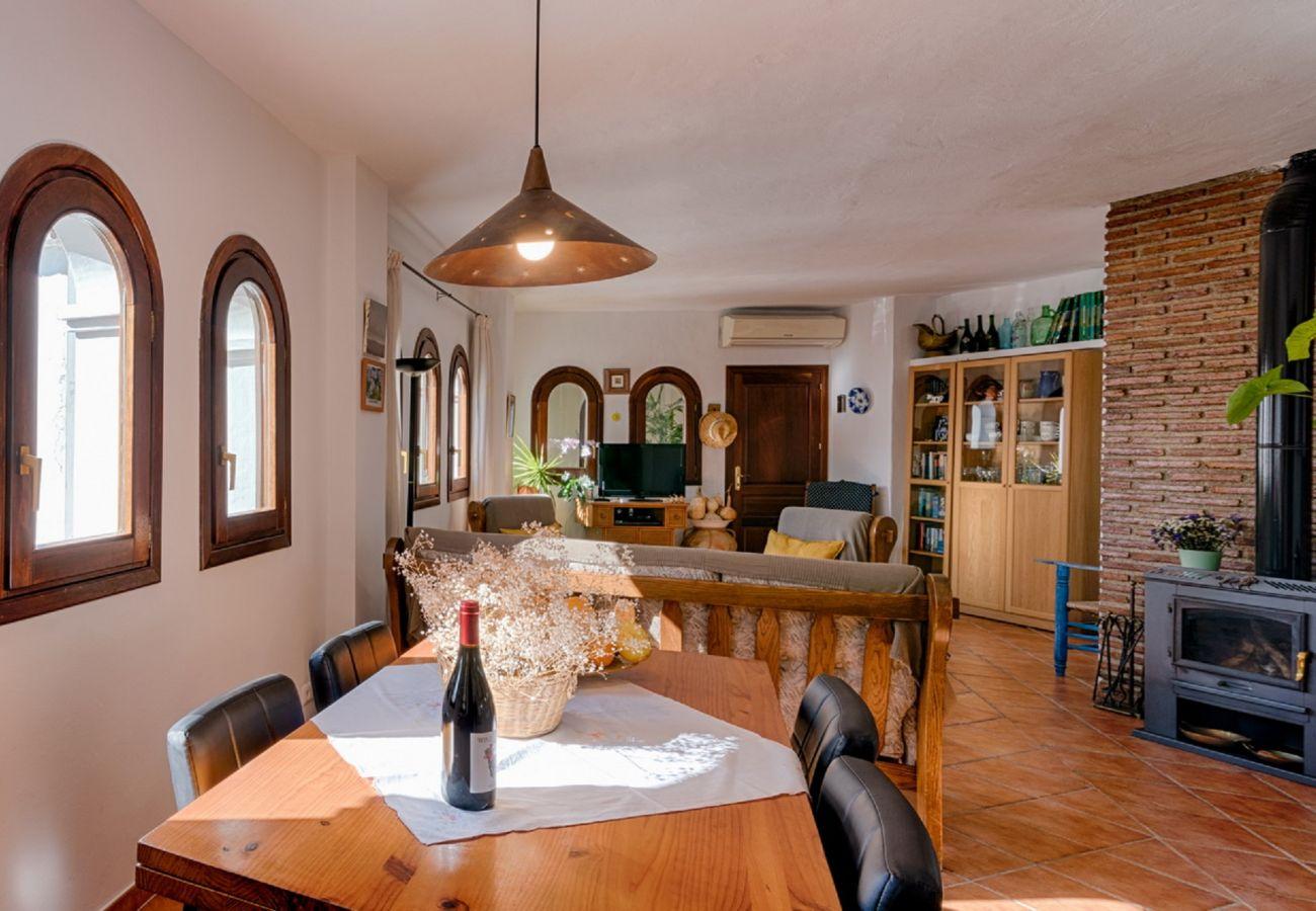 Casa en Frigiliana - 1131 Casa Almona