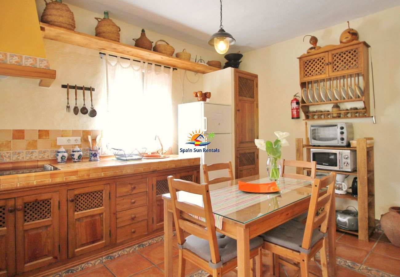 Villa en Frigiliana - 1066 Villa Laero