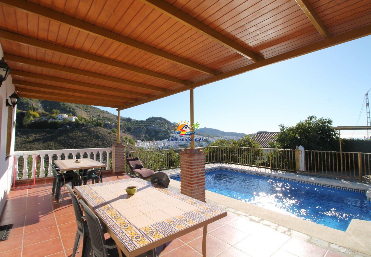 Villa en Frigiliana - 1084 Villa Manolo
