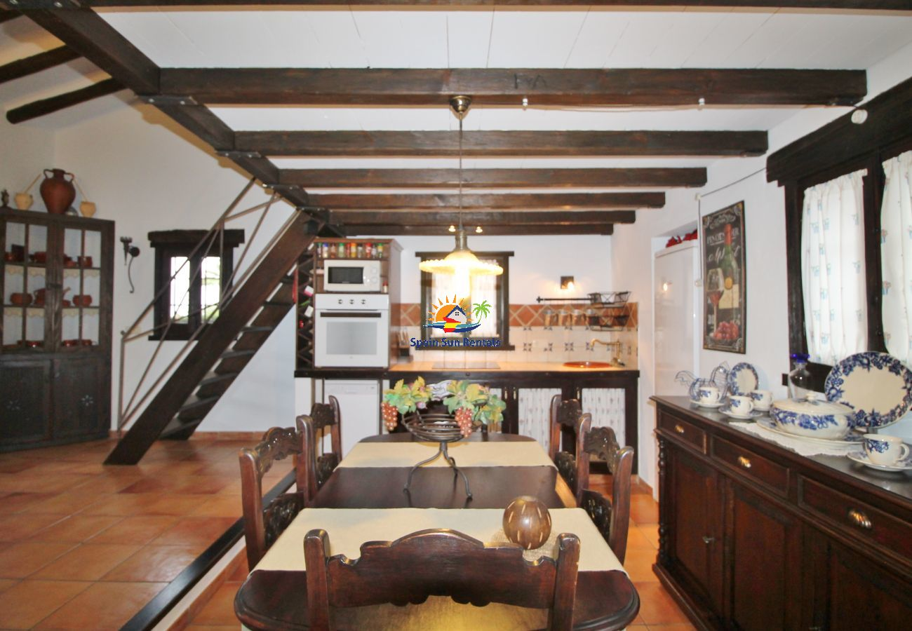Villa en Frigiliana - 1079 Villa la Alberca