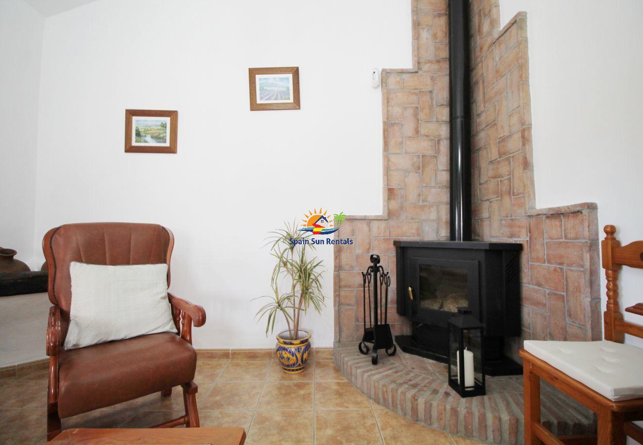 Villa en Frigiliana - 1076 Cortijo de la Musica