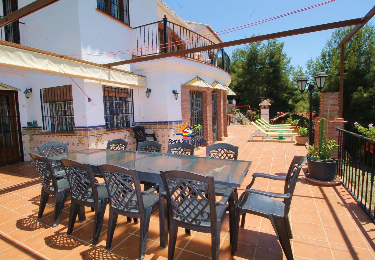 Villa en Frigiliana - 1094 Cortijo el Niño (9p)