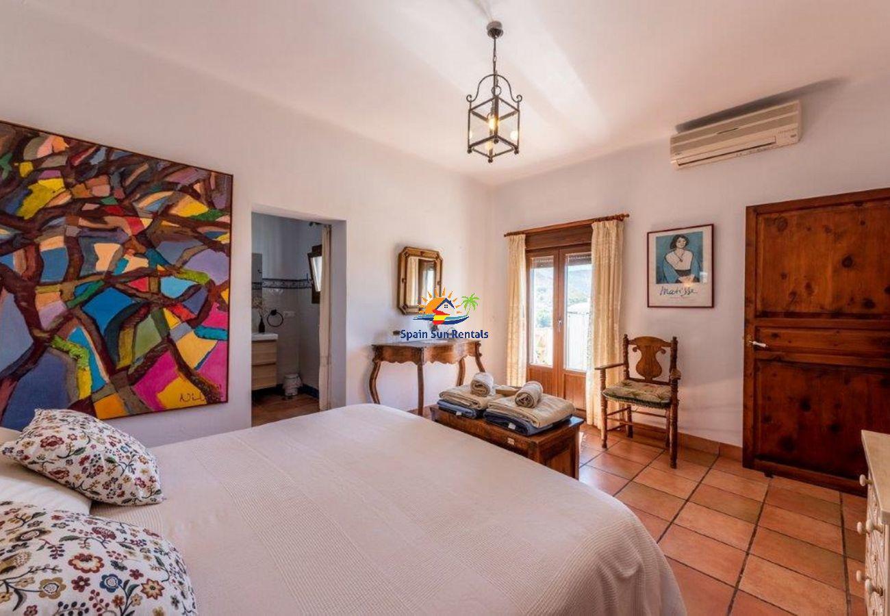 Villa en Frigiliana - 1132 Villa Hazilla
