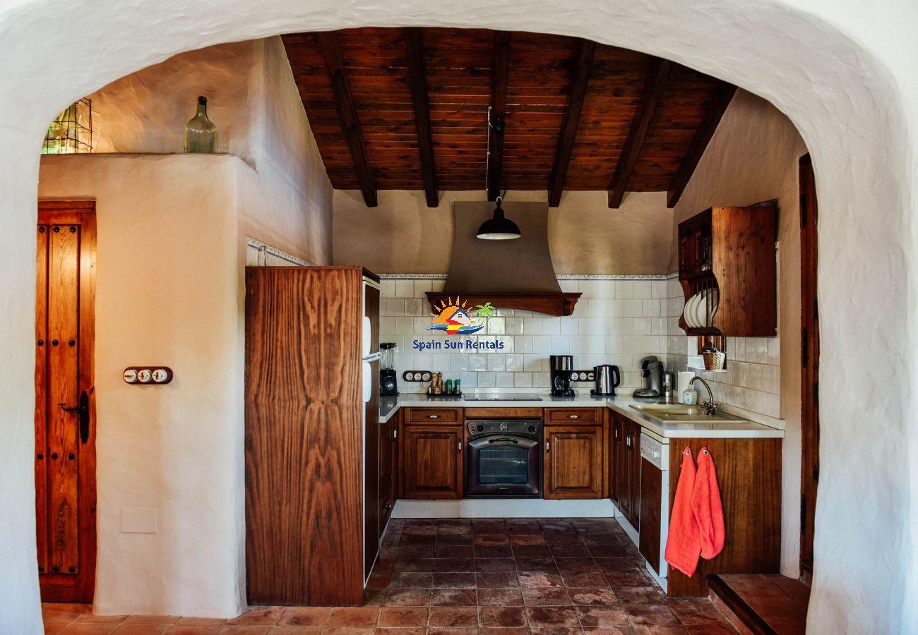 Villa en Frigiliana - 1145 Cortijo la Perla