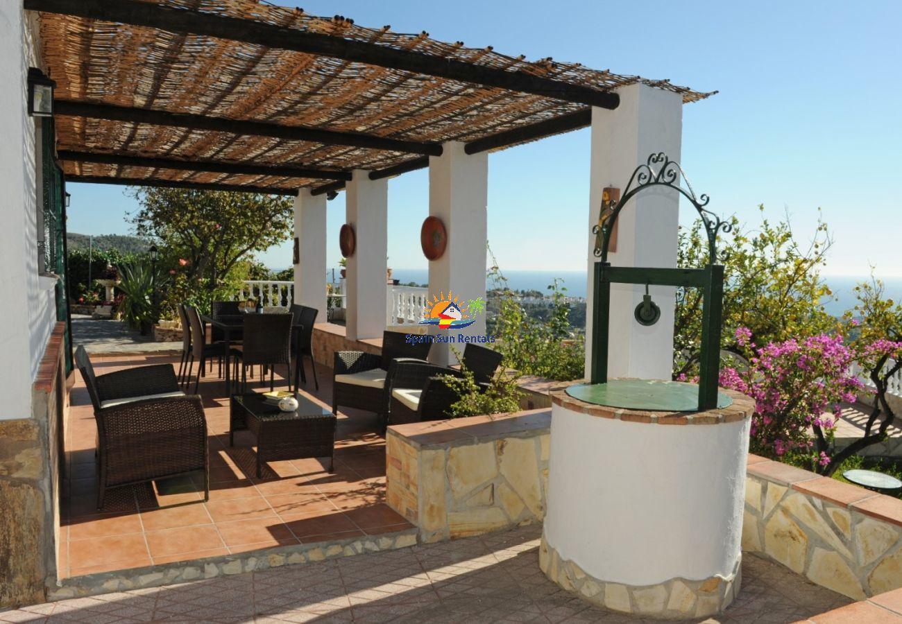 Villa en Frigiliana - 1187 Villa Polborilla