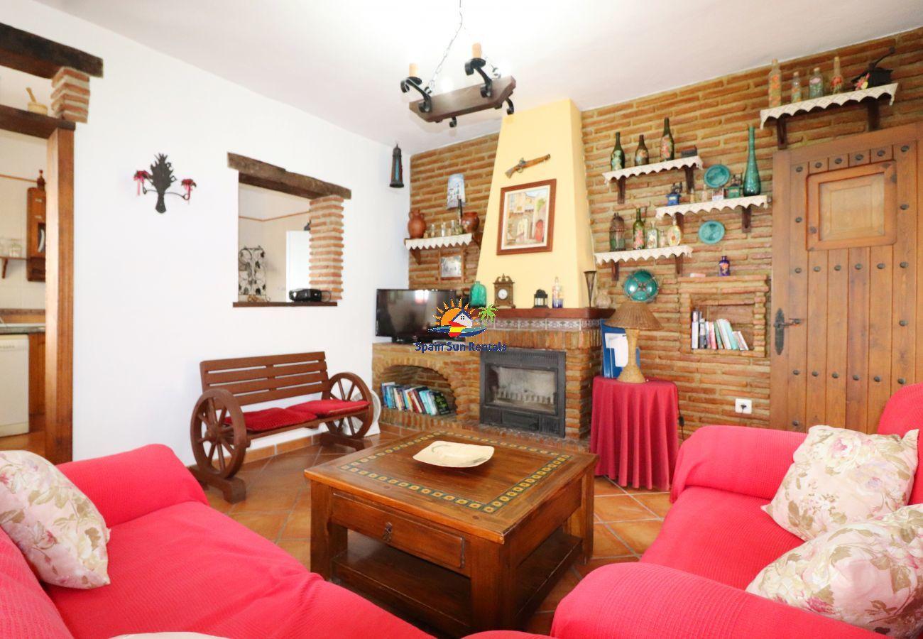 Villa en Frigiliana - 1139 Villa Aranzazu