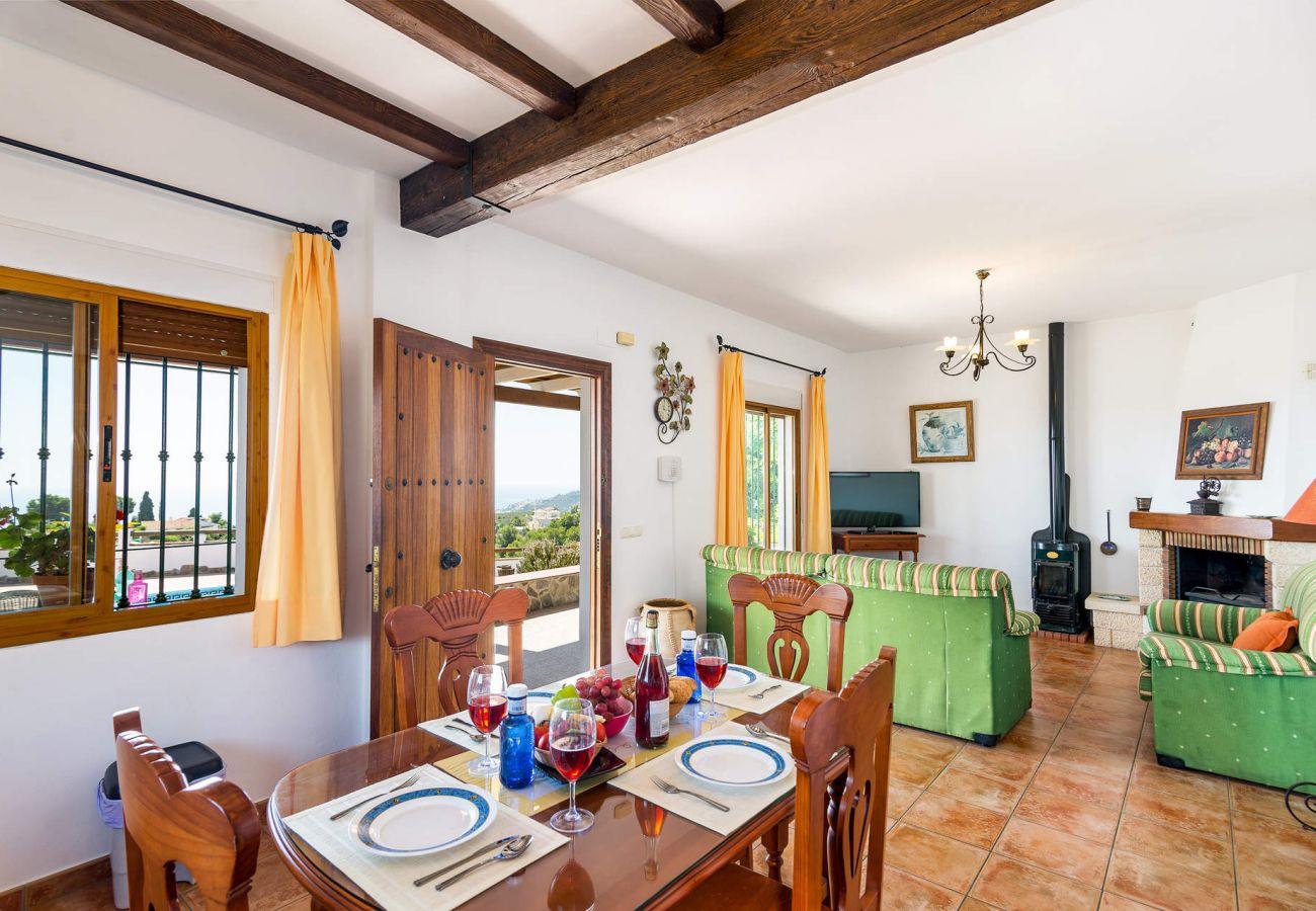 Villa in Frigiliana - 1161 Villa Fortes