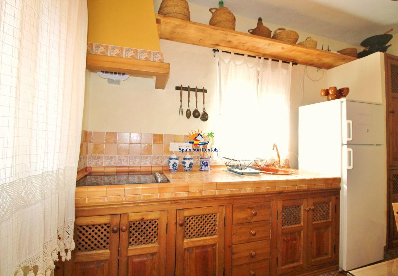 Villa in Frigiliana - 1066 Villa Laero