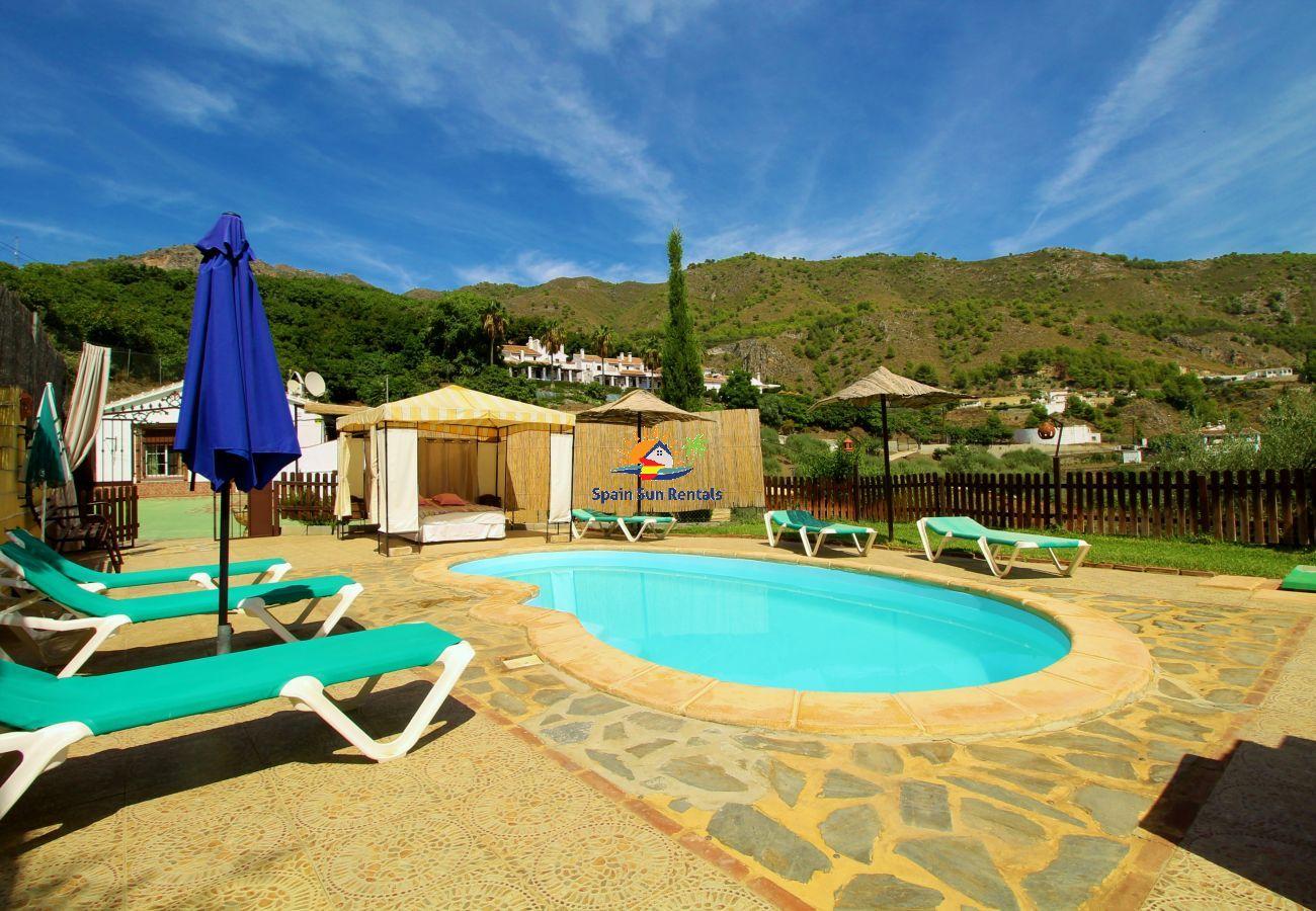 Villa in Frigiliana - 1038 Villa Cruz