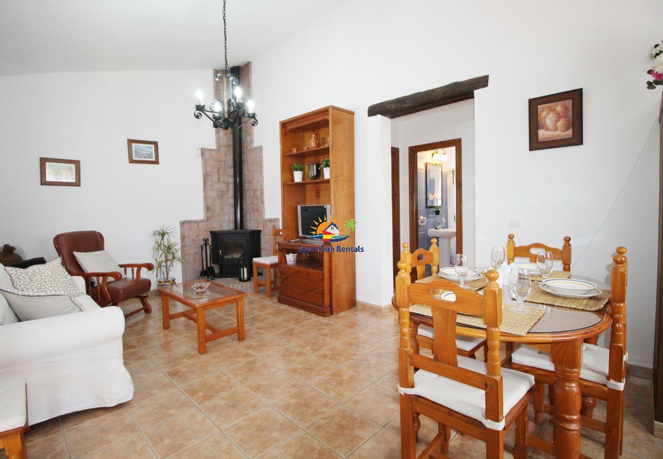 Villa in Frigiliana - 1076 Cortijo de la Musica (Winter)