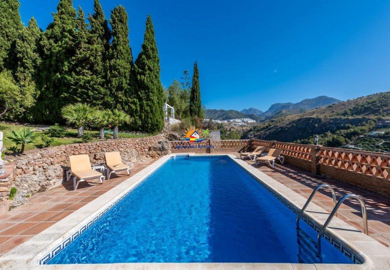 Villa in Frigiliana - 1132 Villa Hazilla