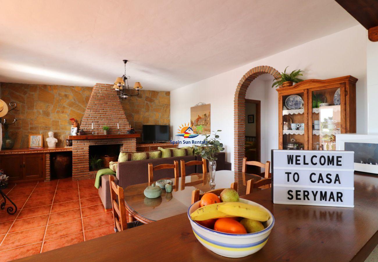 Villa in Frigiliana - 1143 Villa Serymar