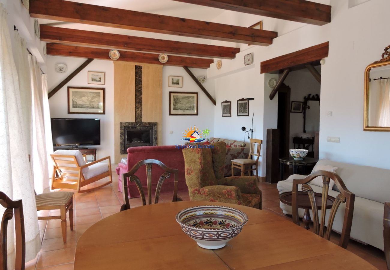 Villa in Frigiliana - 1178 Villa Morea